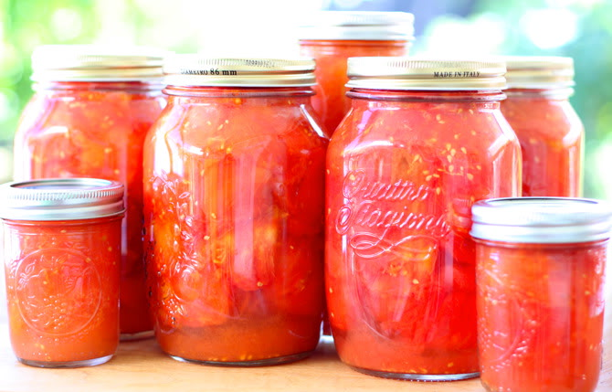 Canned Tomatoes Cancer