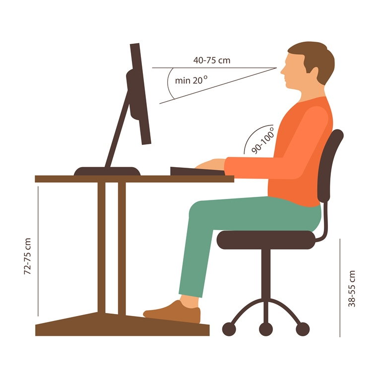 Adjust Height of Computer