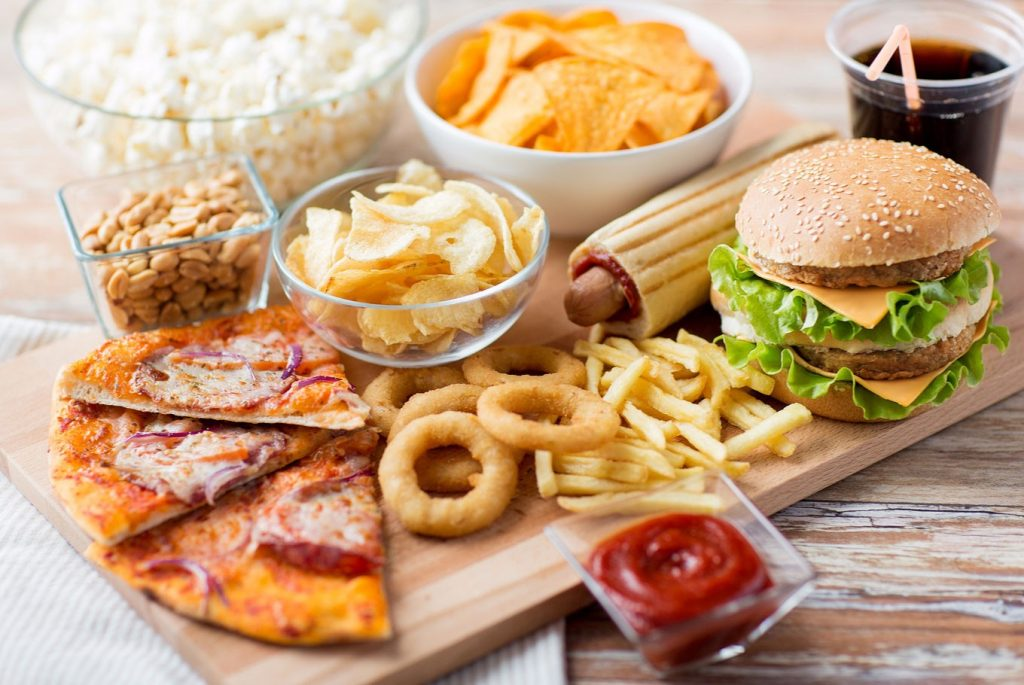 Fast Food can cause Constipation