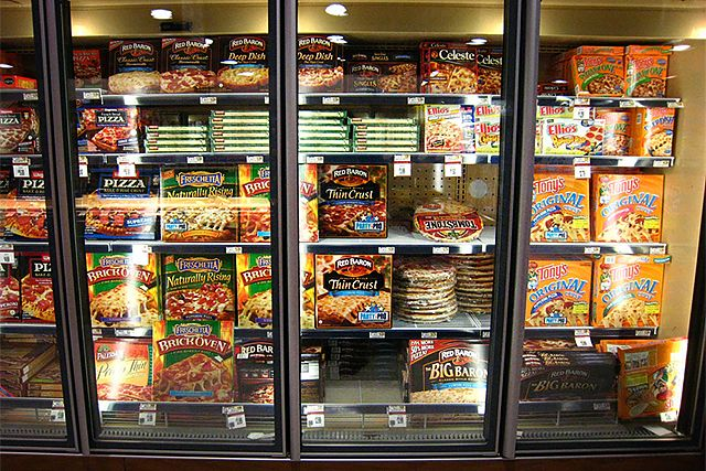 Frozen Food might cause Constipation