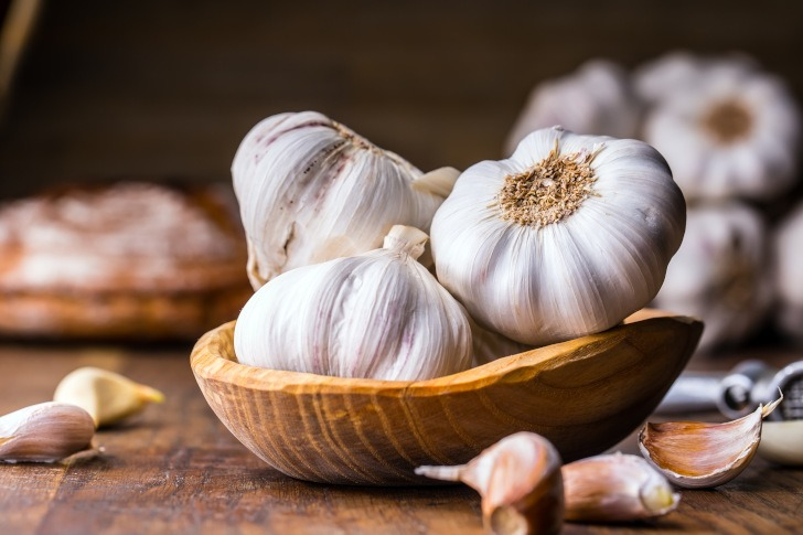 Garlic might lower the risk of cancer