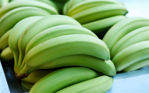 Underripe bananas can cause Constipation